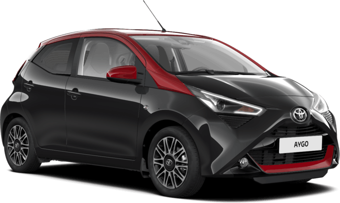 TOYOTA AYGO x-clusiv red style