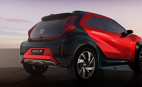 Nuova Toyota AYGO X